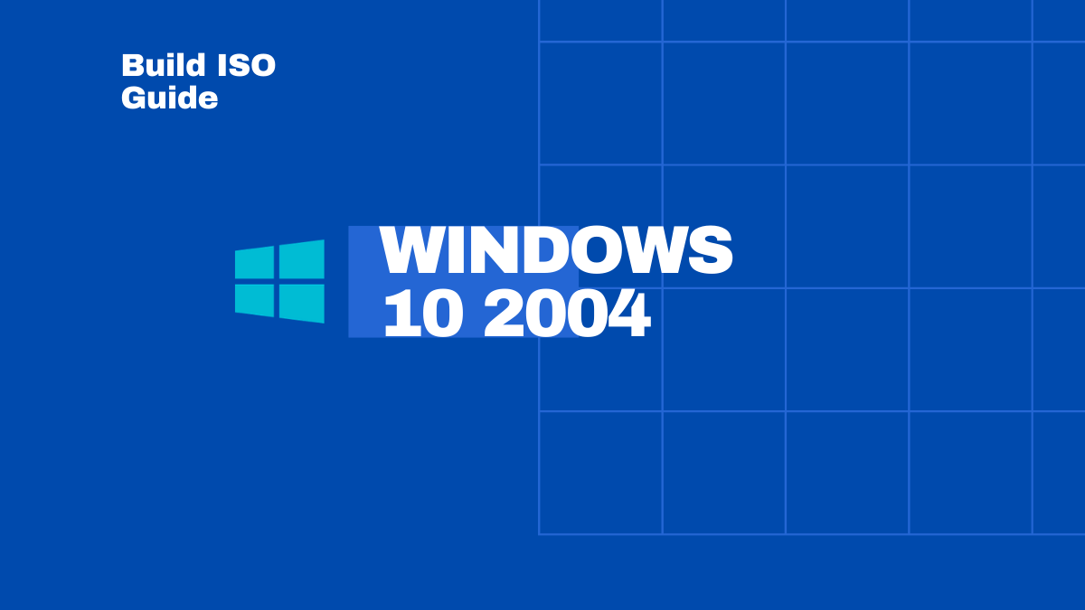 Windows 10 2004 Download