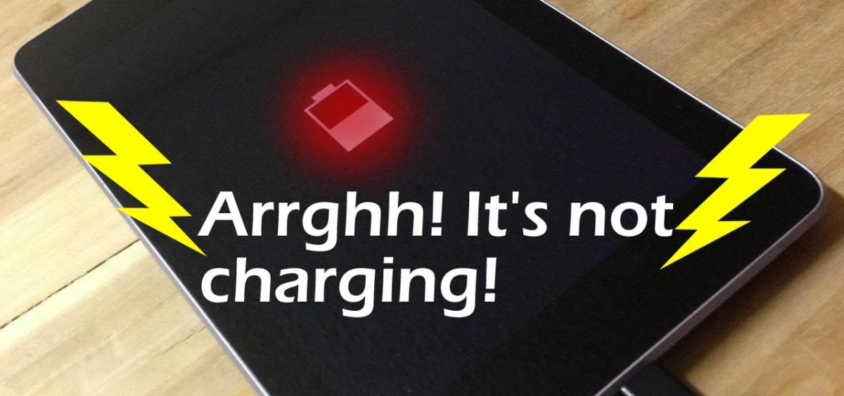 android smartphone not charging