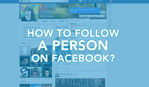 How to Follow Person on Facebook