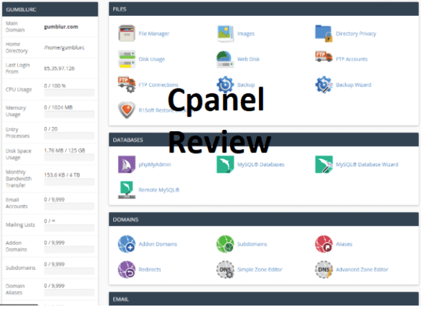 Cpanel Review – How to Set Up Email Using Cpanel | Features of Cpanel