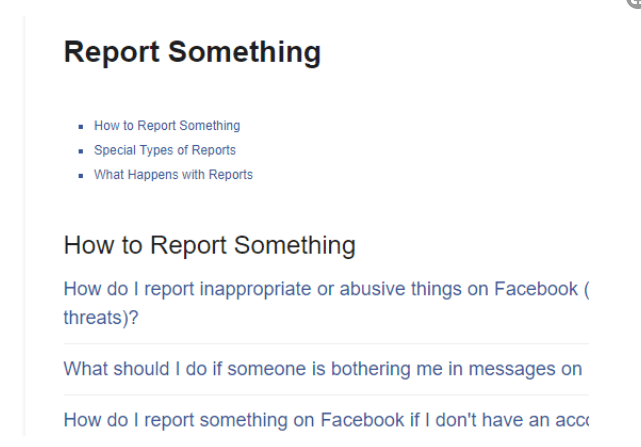 Facebook Reporting Center Chat Room – Facebook Reporting Account | Facebook Report Scam