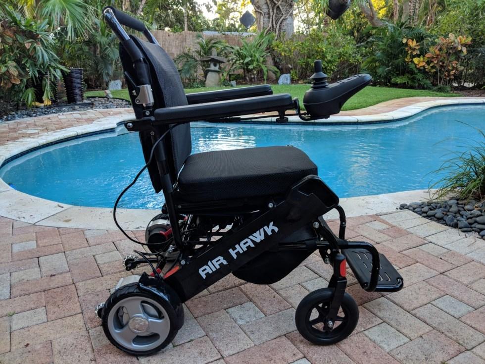 Airhawk Power Folding Wheelchair