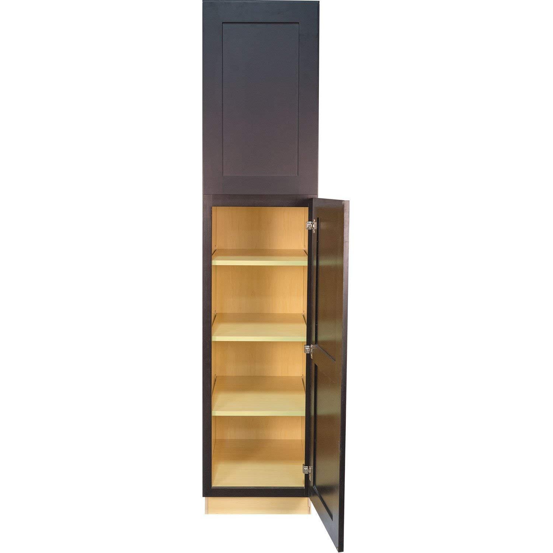 Shaker Espresso Pantry Cabinet