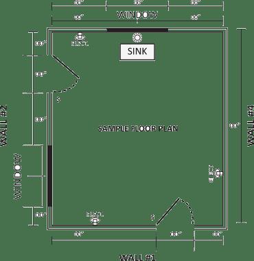 Sample Kitchen Layout