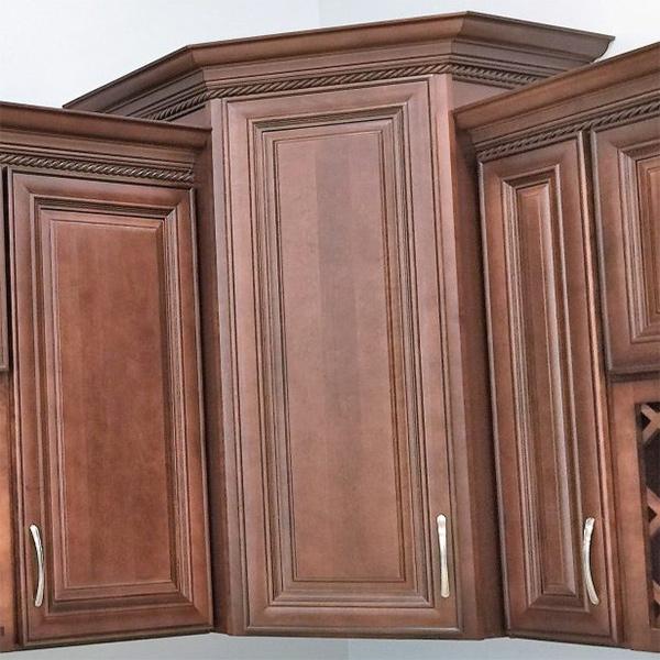 Charleston Saddle Wall Cabinets