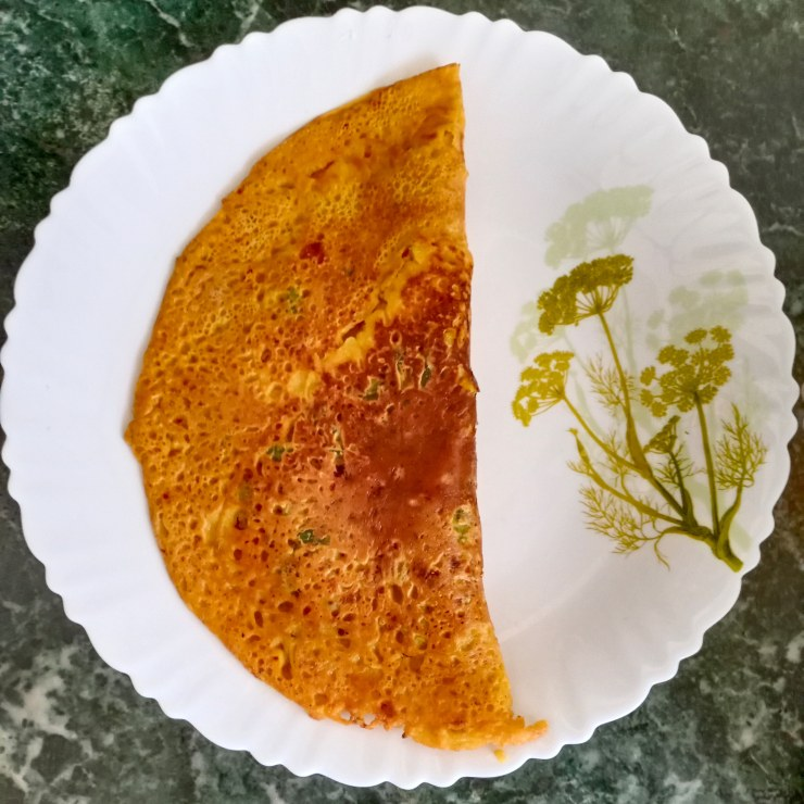 Besan Cheela Recipe - Healthy Breakfast