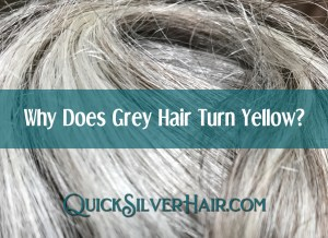 Why Does Grey Hair Turn Yellow? Featured image