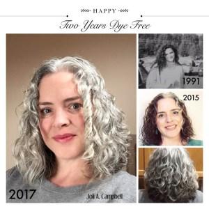 Image of Joli going gray collage