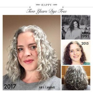 Image of Joli going gray collage