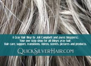 Gray Hair Blog QuickSilverHair feature image