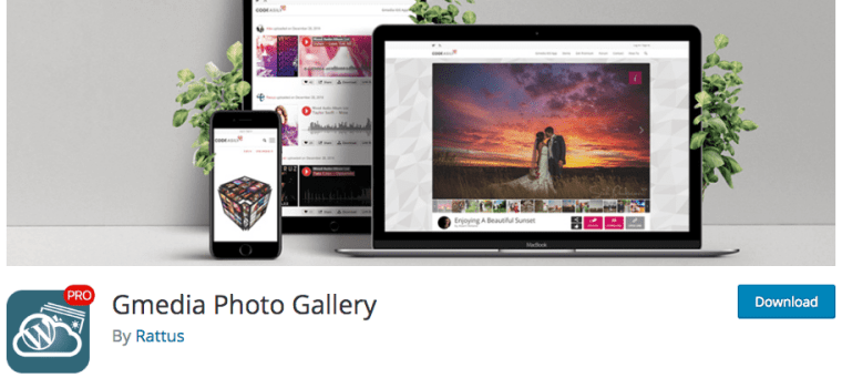 Gmedia Photo Gallery Plugin