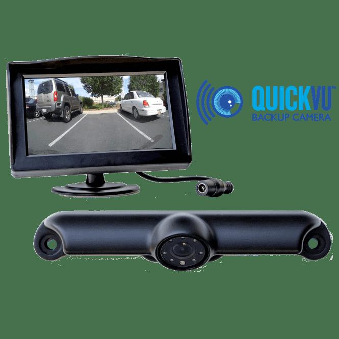 QuickVu™ Digital Wireless Backup Camera System