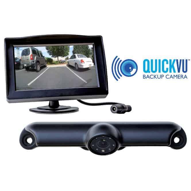 Backup Camera System >> Quickvu Digital Wireless Backup Camera System
