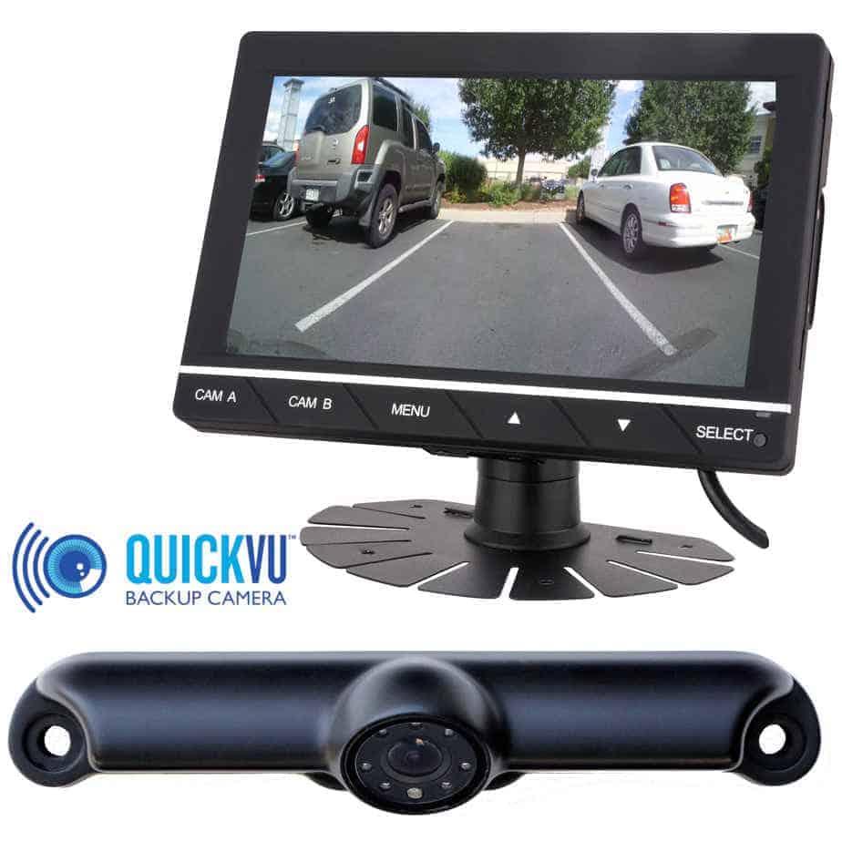 Quickvu Digital Wireless Backup Camera System