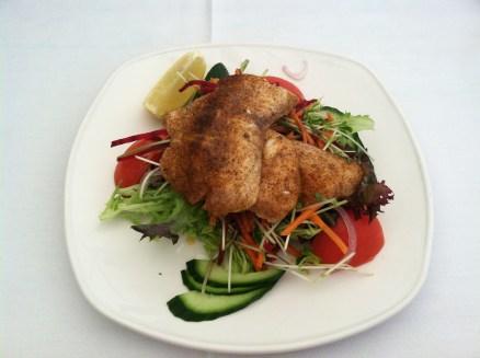 Barramundi salad