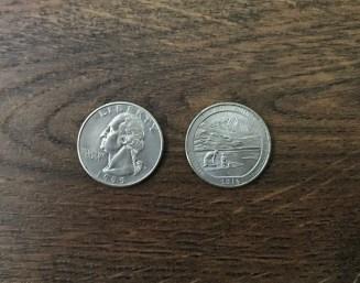 Quarter: 25 Cents