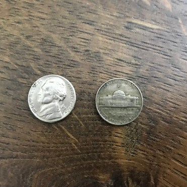 Nickel: 5 Cents