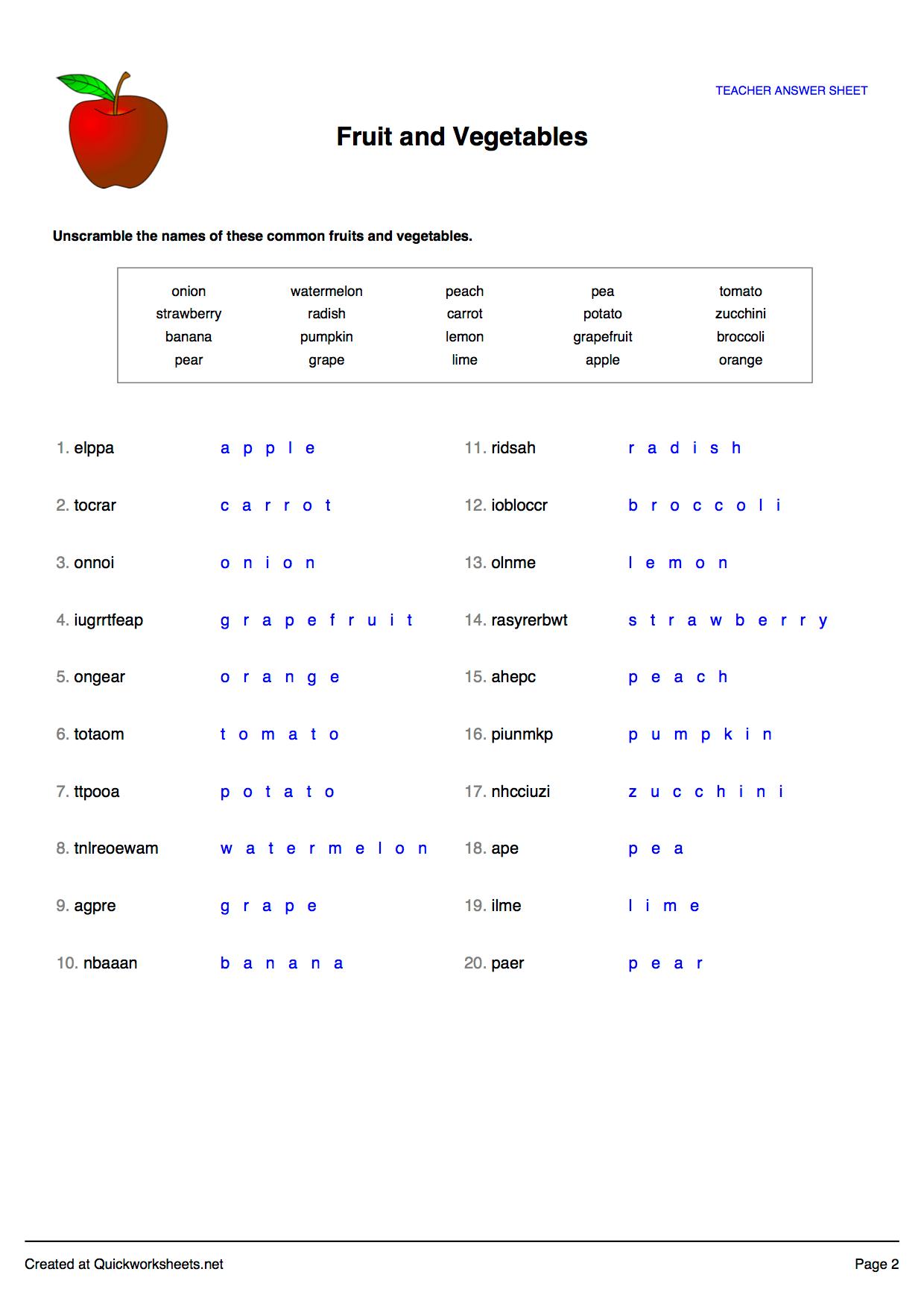 Free Worksheet Generators