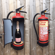 Fire extinguisher minibar by TrongUpcycling on Etsy