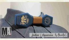 Unique wooden bow-tie by MafashionBoutique