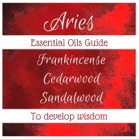 essential oils to develop aries wisdom