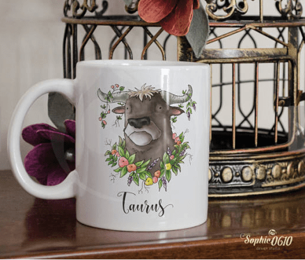 personalised mug by Sophie0610Designs