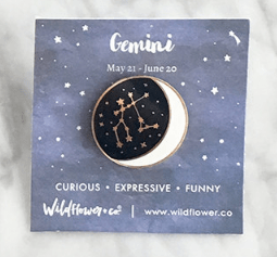 Constellation Enamel Pin by WildflowerandCompany