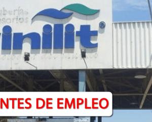 Hoy Nuevas Vacantes de Empleo en Vinilit S.A