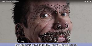 most pierced man in the world