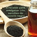 4 Recetas de Agua de Comino Negro para Quemar Grasa y Adelgazar Rápido