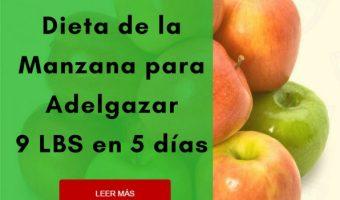 La Dieta de la Manzana para Adelgazar 9 Libras en 5 Días