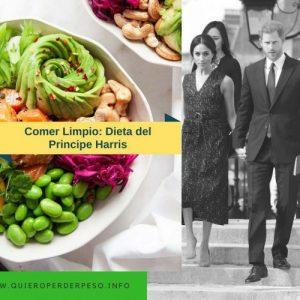 Esta fue la Dieta que hizo el príncipe Harris antes de su boda y adelgazo rápidamente