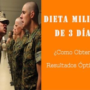 dieta militar resultados