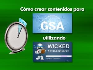 Genera contenido para GSA con Wicked Article Creator en tiempo récord