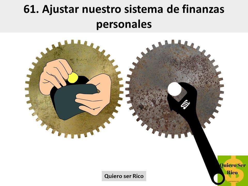 61. Ajustar nuestro sistema de finanzas personales