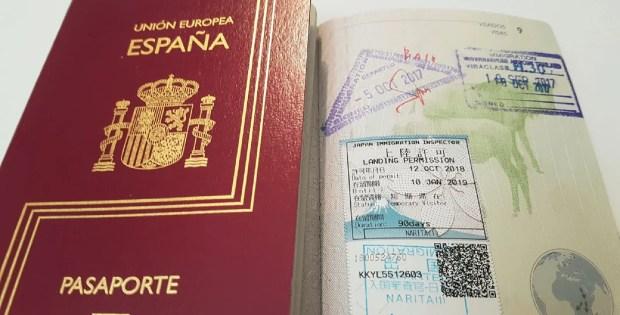 Algunos de los países que piden visados a los españoles