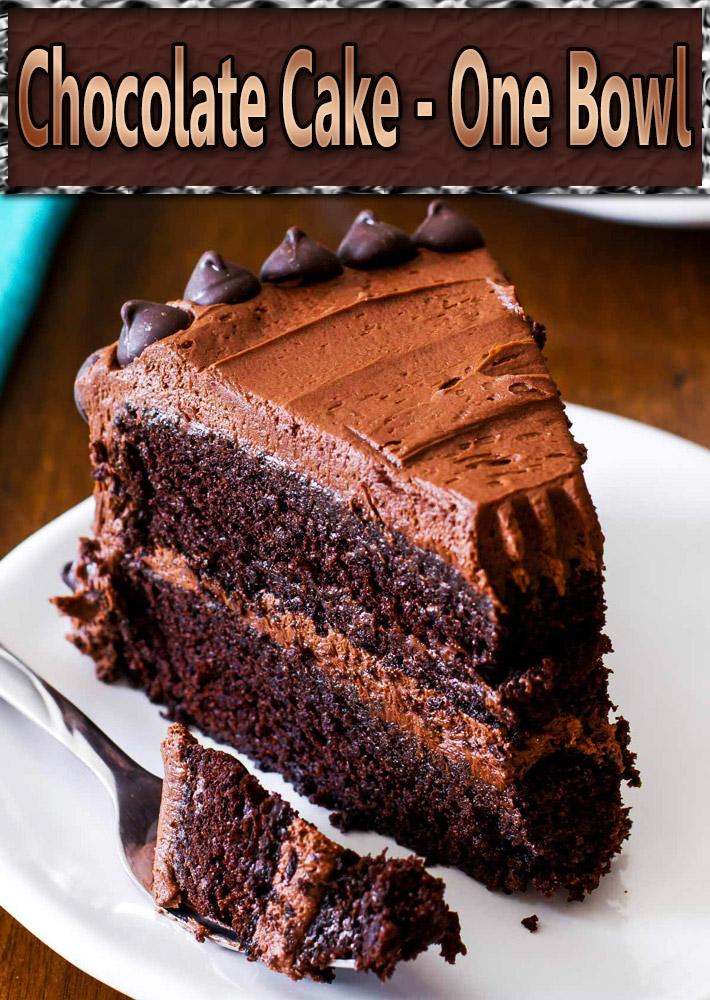 Chocolate Cake – One Bowl