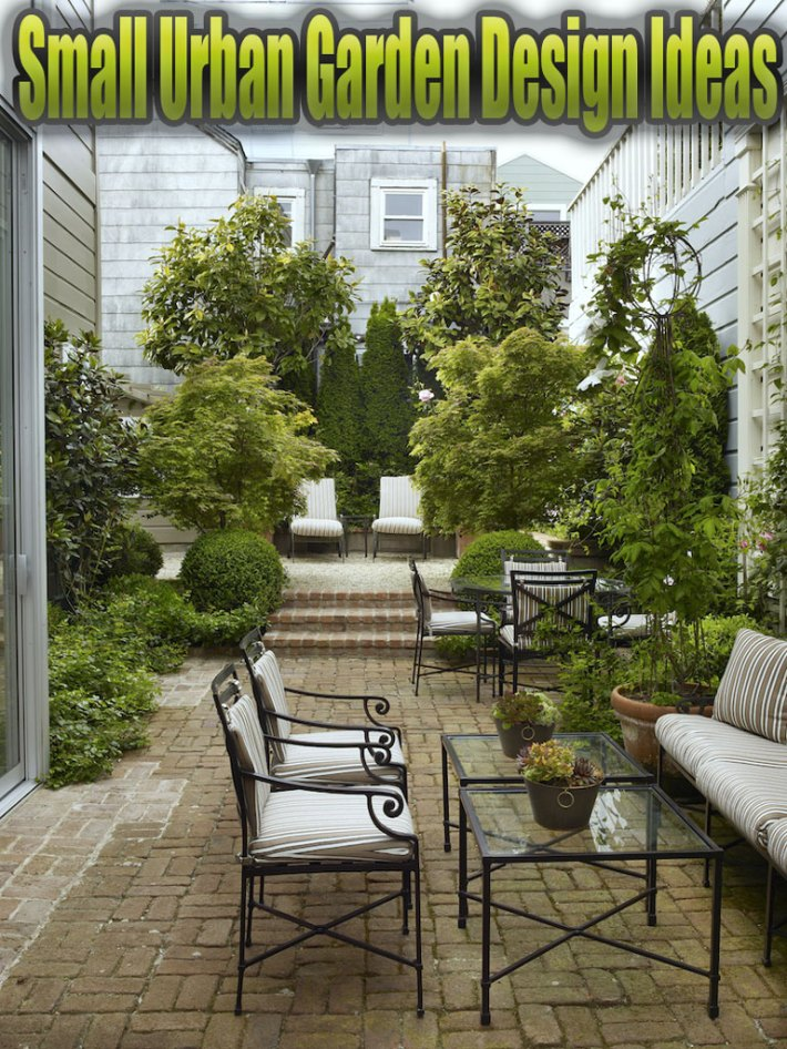 Quiet Corner:Small Urban Garden Design Ideas - Quiet Corner on Small Urban Patio Ideas id=13927