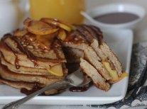 Caramel Apple Pancakes