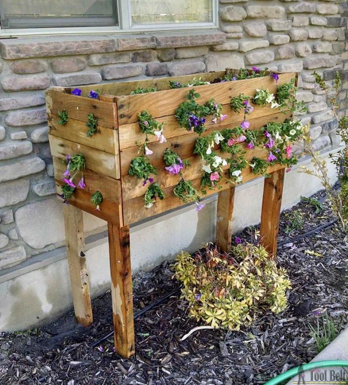 DIY - Pallet Box Planter