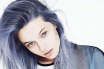 Latest Hair Color Trend- Denim Hair
