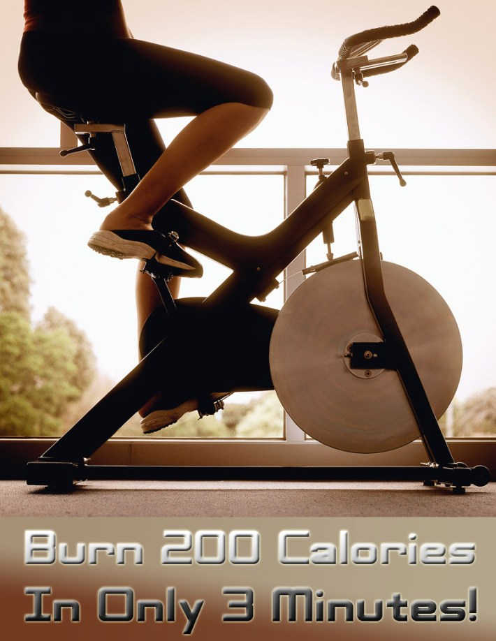 How to Burn 200 Calories In Only 3 Minutes?