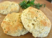 Herbed Yogurt Biscuits