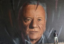 Hyperrealistic Street Art Portraits by Jorit AGOch