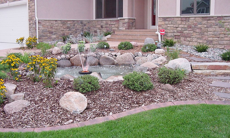 15 Stone Landscaping Ideas - Quiet Corner on Non Grass Backyard Ideas  id=24124