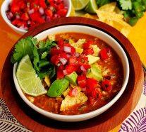 Chicken Tortilla Soup Restaurant-Style