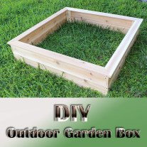 DIY - Outdoor Garden Box