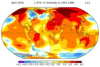 NASA: Last Month Was Warmest April Ever Recorded