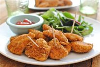 Healthy Baked Chicken Nuggets Recipe