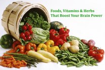 Foods, Vitamins & Herbs That Boost Your Brain Power